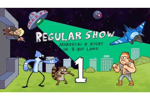 Regular Show Mordecai and Rigby In 8-Bit Land (3DS ...