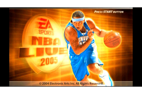 NBA Live 2005 ... (PS2) - YouTube