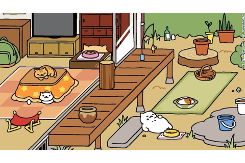 'Neko Atsume' is the addicting app where you feed cats ...
