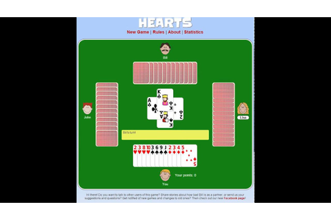 How to Play Hearts (Card Game) - YouTube