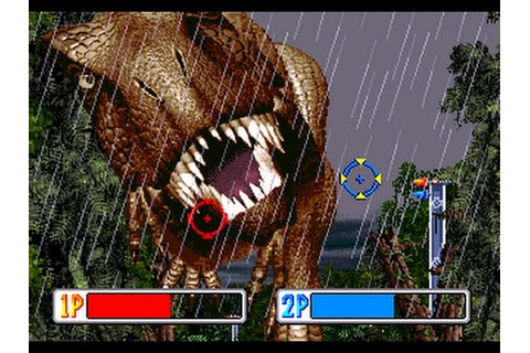 JURASSIC PARK (Arcade Game) - YouTube