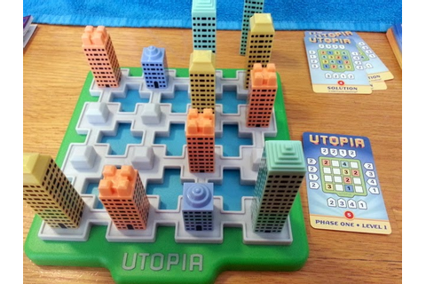 The Puzzle Den: Utopia