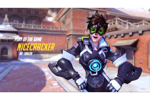 Overwatch - Tracer play of the game #2 By.Nicecracker ...