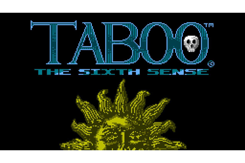 Taboo: The Sixth Sense - NES Gameplay - YouTube