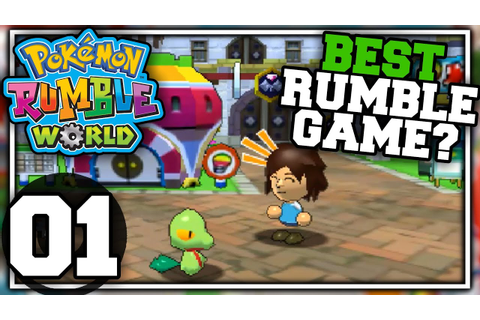 Pokemon Rumble World - Part 01 - BEST RUMBLE GAME ...