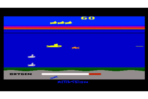 Atari 2600 Games Seaquest (1983) - YouTube