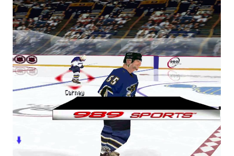 The Yarcade: NHL FaceOff 2001 - YouTube
