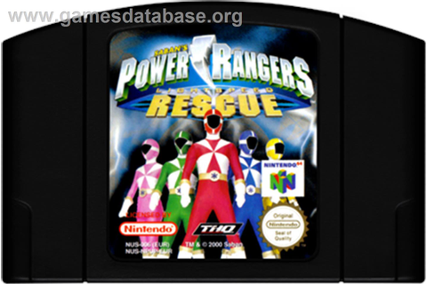 Power Rangers: Lightspeed Rescue - Nintendo N64 - Games ...