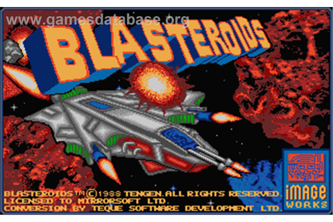 Blasteroids - Atari ST - Games Database