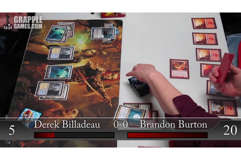 Born of the Gods Game Day at Grapple Games 3-2-2014 Esper ...