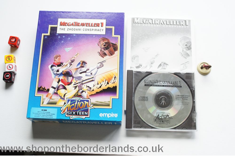 MegaTraveller 1 - The Zhodani Conspiracy, PC game - The ...