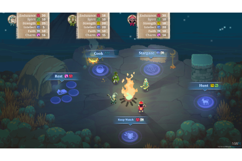 """Personality Test"" RPG Moon Hunters Crossing To Switch ..."