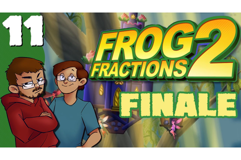 Let's Play | Frog Fractions 2 - FINALE - EVERYTHING IS ...