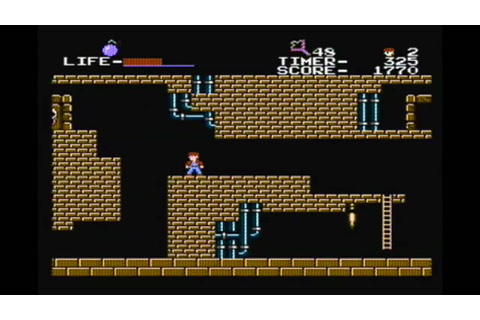 CLASSIC GAMES REVISITED - The Goonies (Famicom) review ...
