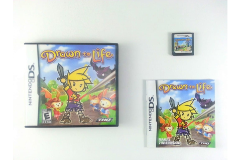 Drawn to Life game for Nintendo DS (Complete) | The Game Guy