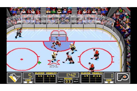 NHL '94 (MS-DOS) - Game 1 - Philadelphia Flyers at ...