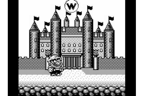 Wario Land: Super Mario Land 3 - Gameboy - End of the Game ...