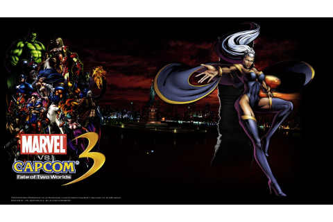 1920x1080 Marvel vs Capcom 3: Fate of Two Worlds game ...