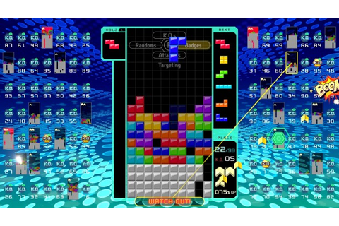 Game review: Tetris 99 is Nintendo's first battle royale ...