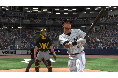 MLB The Show 19 Gameplay - New York Yankees vs Oakland ...