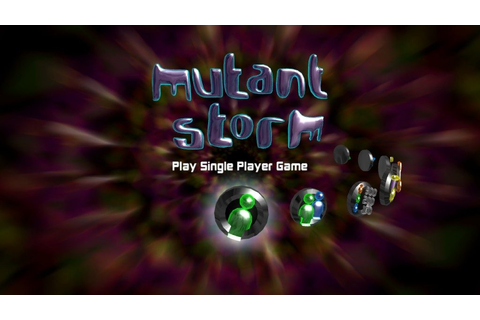 Mutant Storm Reloaded (2005) by PomPom Games X360 game