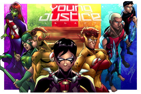 ArtStation - Young Justice: Legacy, Tarik Holmes