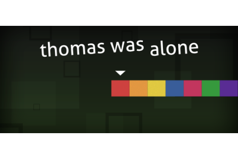 Thomas Was Alone PS4, Xbox One, & Wii U Out in November