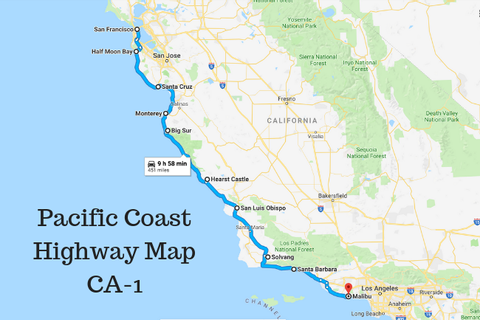 Ultimate Pacific Coast Highway California Road Trip ...
