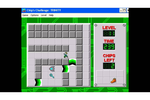 Chip's Challenge PC Old Screen