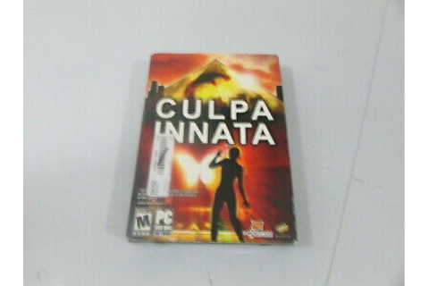 Culpa Innata PC DVD ROM Game Software | eBay
