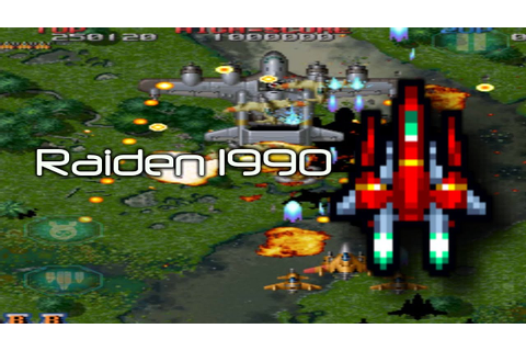 Classic Plays: Raiden 1990 Video Game - YouTube