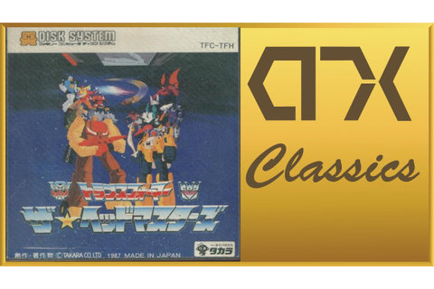 AWFUL GAME: Transformers: The Headmasters (Famicom Disk ...