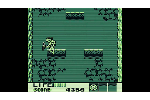 Teenage Mutant Hero Turtles III: Radical Rescue (Game Boy ...