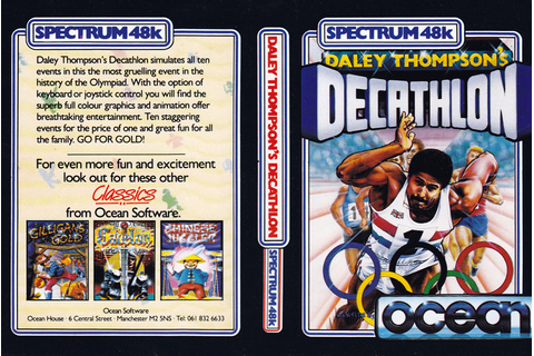 Daley Thompson's Decathlon – ZX Spectrum | Retro Asylum