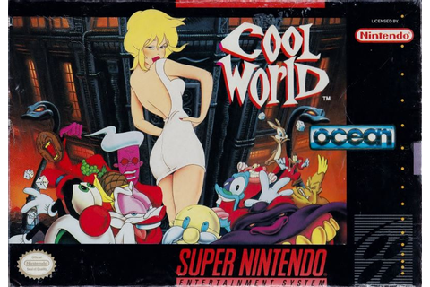 Cool World (1992) SNES box cover art - MobyGames