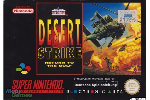 Desert Strike - Return To The Gulf ROM - Super Nintendo ...
