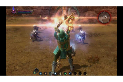 Kingdoms of Amalur Reckoning-elemental rage - YouTube