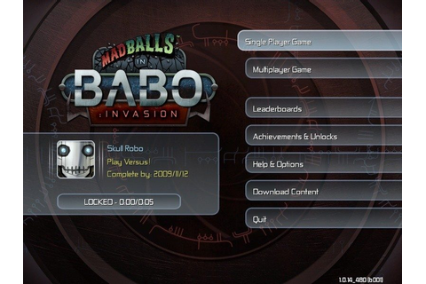 Madballs in... Babo:Invasion (2009) by Playbrains Windows game