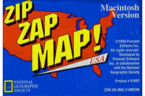 Zip Zap Map! USA MAC kids learning puzzle arcade game! | eBay