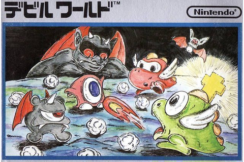 Devil World ROM - Nintendo (NES) | Emulator.Games