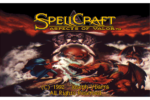 Spellcraft - Aspects of Valor | Old DOS Games | Download ...