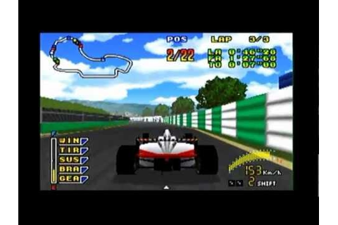 F1 Pole Position 64 - N64 Gameplay with Commentary - YouTube