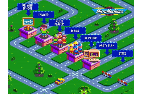 Download Micro Machines V3 (Windows) - My Abandonware