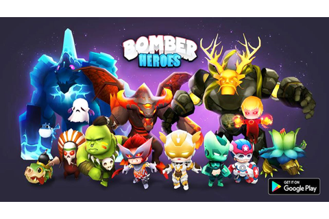 Bomber Heroes: Bomberman Game 3D Android Gameplay (Beta ...