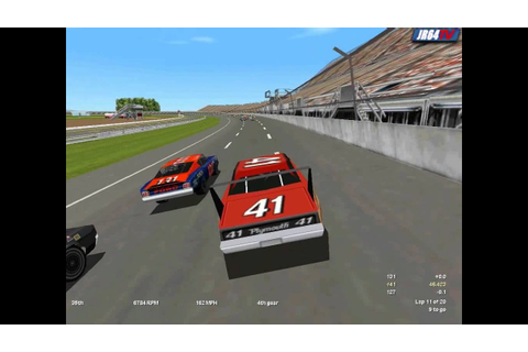 Nascar Legends - PC - Michigan - YouTube