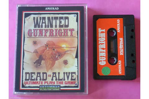 Retro Treasures: Gunfright for the Amstrad CPC