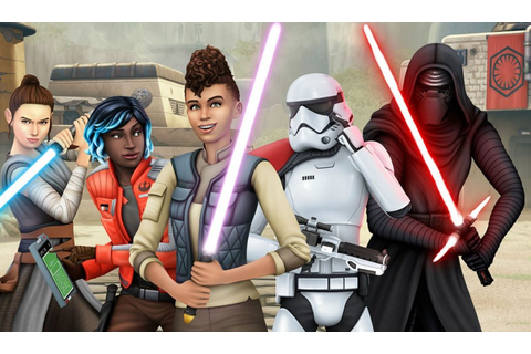The Sims 4 Star Wars Journey To Batuu Game Pack Revealed ...