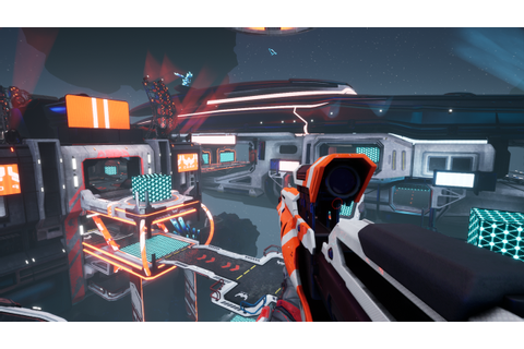 Halo-Meets-Portal Shooter Gets New Name, Splitgate: Arena ...