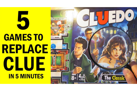 Top 5 Mystery Themed Board Games for fans of Clue / Cluedo ...
