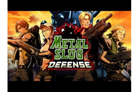 Best Android Games 2017 - Metal Slug 1st Mission Games ...